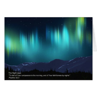 The Night Greeting Cards