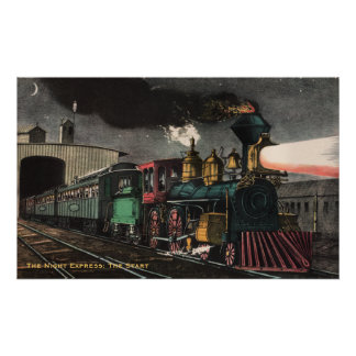 The Night Express Poster