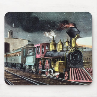 The Night Express: The Start Mouse Pad