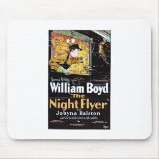 The Night Flyer Mouse Pad