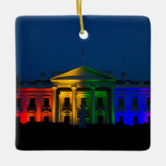 The Night Gay Marriage Became Legal in America Ceramic Ornament