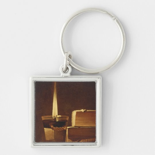 The night light, 1630-35 keychain
