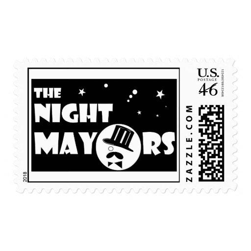 The NIght Mayors Stamp