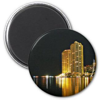 The night of miami fridge magnets