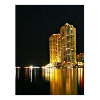 The night of miami postcard