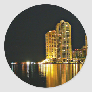 The night of miami stickers
