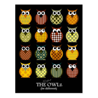 The Night- Owlz Postcard