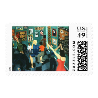 The Night She Learned to Dance  Postage Stamps