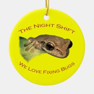 The Night Shift Christmas Tree Ornaments