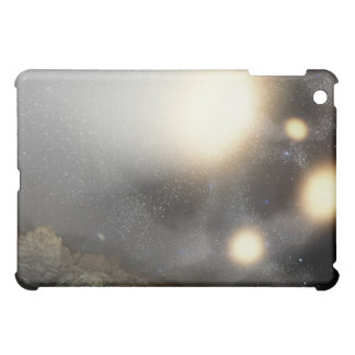 The night sky as seen from a hypothetical plane iPad mini cases