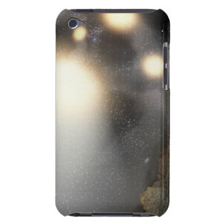 The night sky as seen from a hypothetical plane iPod touch cover