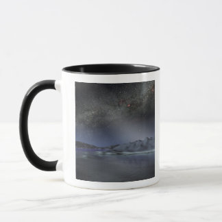 The night sky from a hypothetical alien planet 2 mug