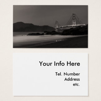 The Night Watch at Golden Gate Business Card