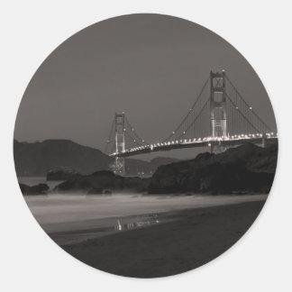 The Night Watch at Golden Gate Classic Round Sticker