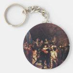 The Night Watch By Rembrandt Harmensz. Van Rijn Key Chains