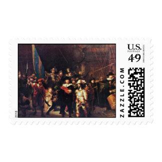 The Night Watch By Rembrandt Harmensz. Van Rijn Stamps
