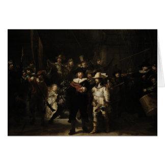 The Night Watch by Rembrandt van Rijn Card