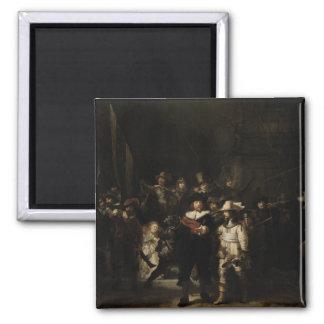 The Night Watch by Rembrandt van Rijn Refrigerator Magnet