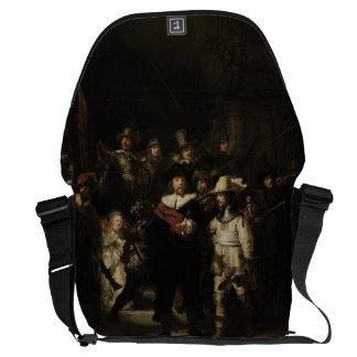 The Night Watch by Rembrandt van Rijn Messenger Bags