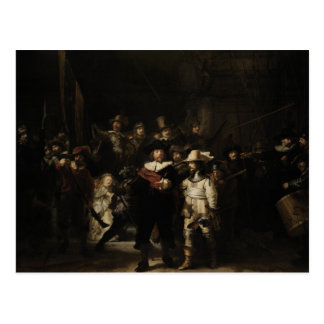 The Night Watch by Rembrandt van Rijn Post Card