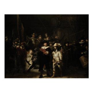 The Night Watch by Rembrandt van Rijn Postcard