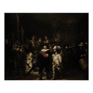The Night Watch by Rembrandt van Rijn Poster