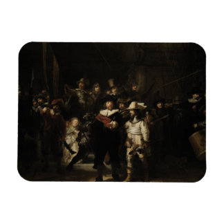 The Night Watch by Rembrandt van Rijn Rectangular Magnets