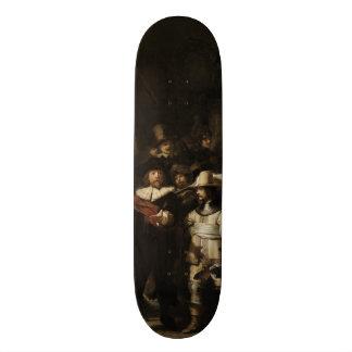 The Night Watch by Rembrandt van Rijn Skateboards