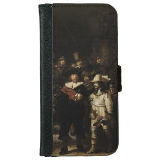 The Night Watch by Rembrandt van Rijn Wallet Phone Case For iPhone 6/6s