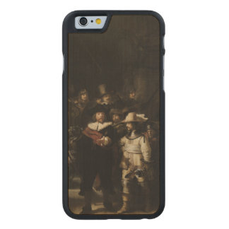 The Night Watch by Rembrandt van Rijn Carved® Maple iPhone 6 Slim Case
