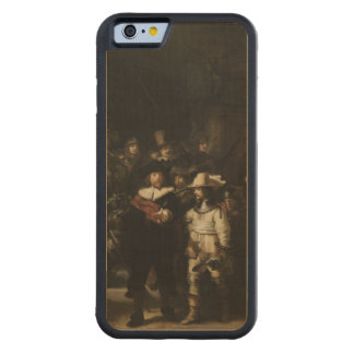The Night Watch by Rembrandt van Rijn Carved® Maple iPhone 6 Bumper Case