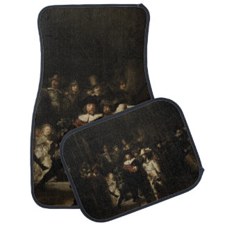 The Night Watch by Rembrandt van Rijn Car Mat