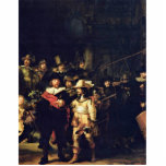 The Night Watch Detail By Rembrandt Harmensz. Van Acrylic Cut Outs