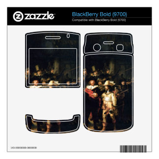 The Night Watch detail by Rembrandt Skins For BlackBerry