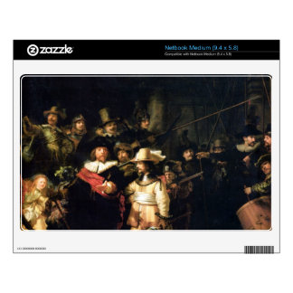 The Night Watch detail by Rembrandt Decals For Netbooks