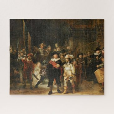 THE NIGHT WATCH PAINTING BY REMBRANDT JIGSAW PUZZLE