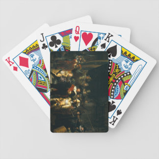 The Night Watch - Rembrandt Bicycle Playing Cards
