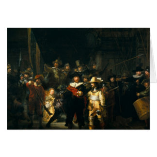 The Night Watch - Rembrandt Card