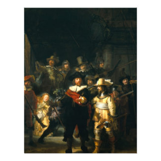 The Night Watch - Rembrandt Flyers