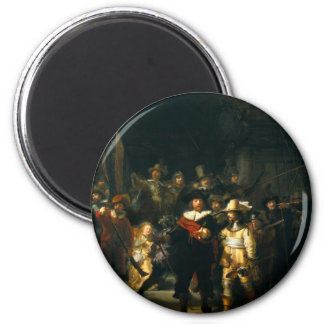 The Night Watch - Rembrandt Fridge Magnet