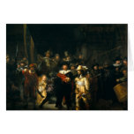The Night Watch - Rembrandt Greeting Card