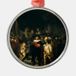 The Night Watch - Rembrandt Christmas Tree Ornament