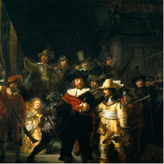 The Night Watch - Rembrandt Photo Cutout