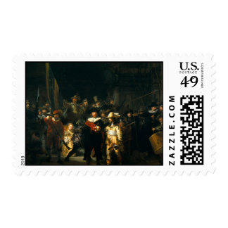 The Night Watch - Rembrandt Stamps