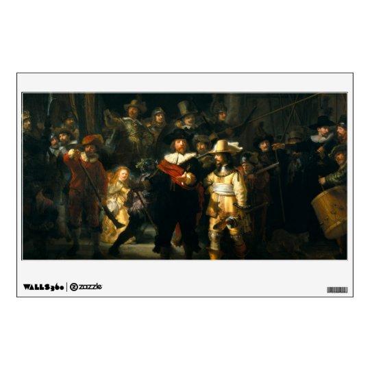 The Night Watch - Rembrandt Wall Sticker