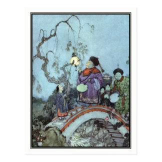 The Nightingale by Edmund Dulac Postcard