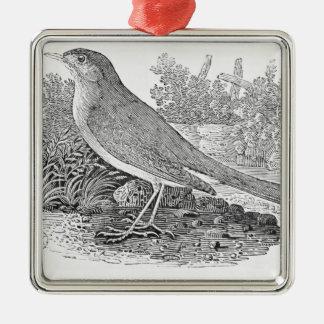 The Nightingale Metal Ornament