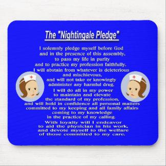 The Nightingale Pledge Mouse Pad
