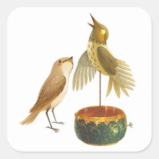 The Nightingale Square Sticker