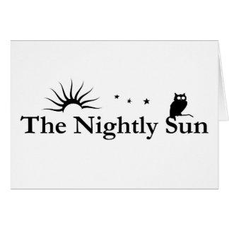 The Nightly Sun Card